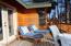 Back deck off of master bedroom