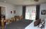Larger master bedroom