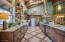 Custom Tile & Open Log Shelving
