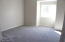Good quality pad and carpet in bedrooms.