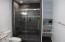 Barn Style Glass Shower Door