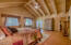 Spacious Master Bedroom w/ Separate Exit to Covered Deck