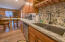 big kitchen and island area for your entertaining needs