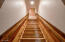stairway to loft area