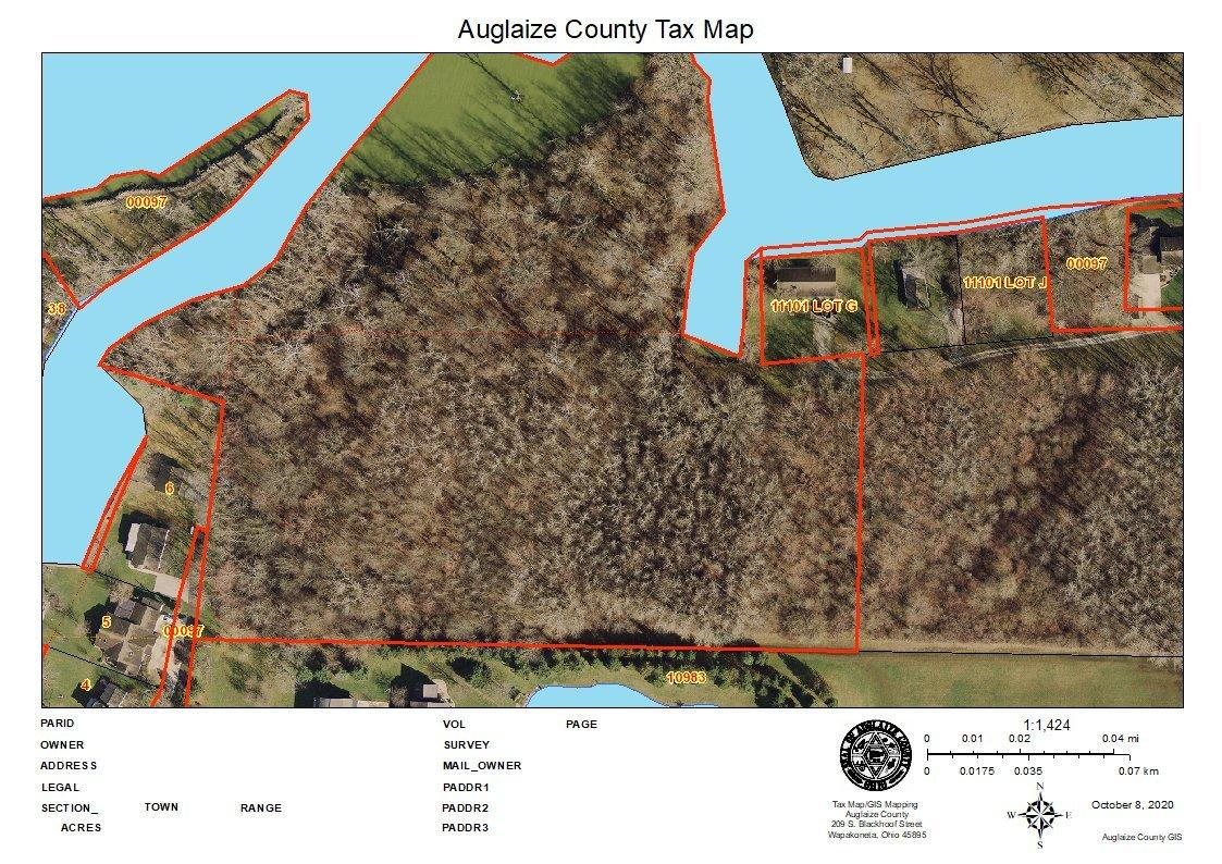 9.5 acre of prime lake frontage just waiting to be developed. All undeveloped wooded land located on the southside of Grand Lake St. Marys. Additional land can be purchased that does not adjoin to this property. See MLS# 1006484. Preliminary development plans can be available to qualified buyer. Parcel# K3101803400. Land total is per county auditors site.