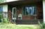 Front door and front porch