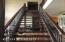 Custom black walnut staircase