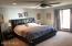 Large, upper level bedroom