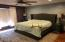 Master bedroom. Large enough for you furniture with great lake views.