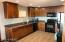 Updated kitchen with full set of appliances