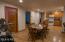 Living quarters #1 , dining & Kitchen