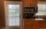 Door to deck from kitchen