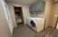 main floor laundry and half bath