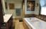 walk in tiled shower
