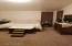 Roomy master suite